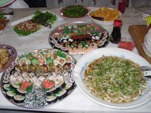 Sushi Luck Catering